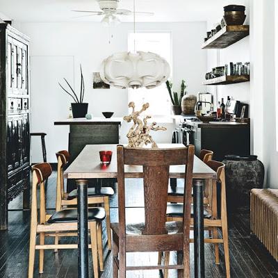 Eclectic-Wood-Dining-Room-Livingetc-Housetohome