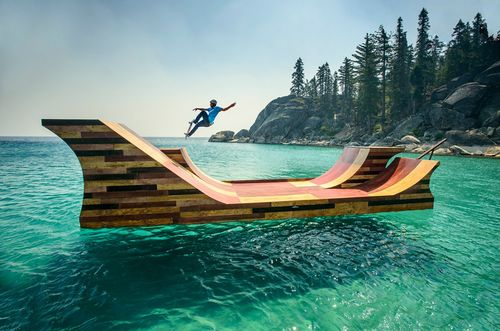 Floating-Skateboard-Ramp-Lake-Tahoe-Dream-Big-California-Bob-Burnquist-10